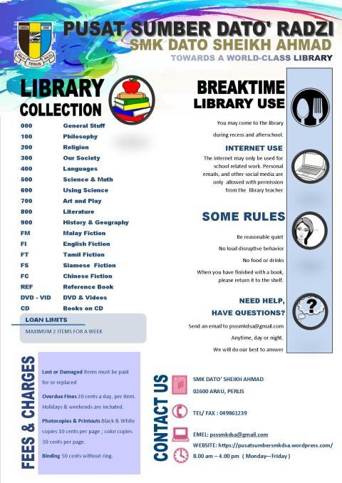 poster perkhidmatan PSS